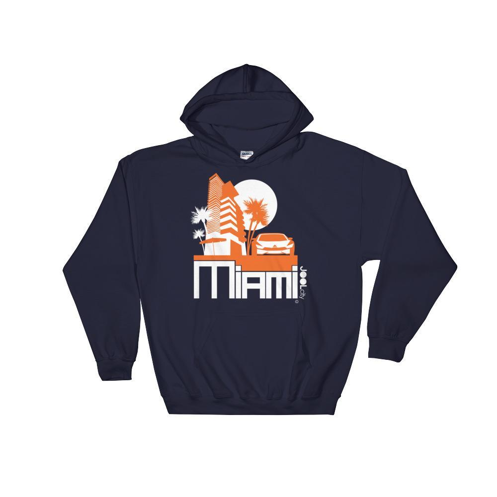 Miami Sleek City Hooded Sweatshirt