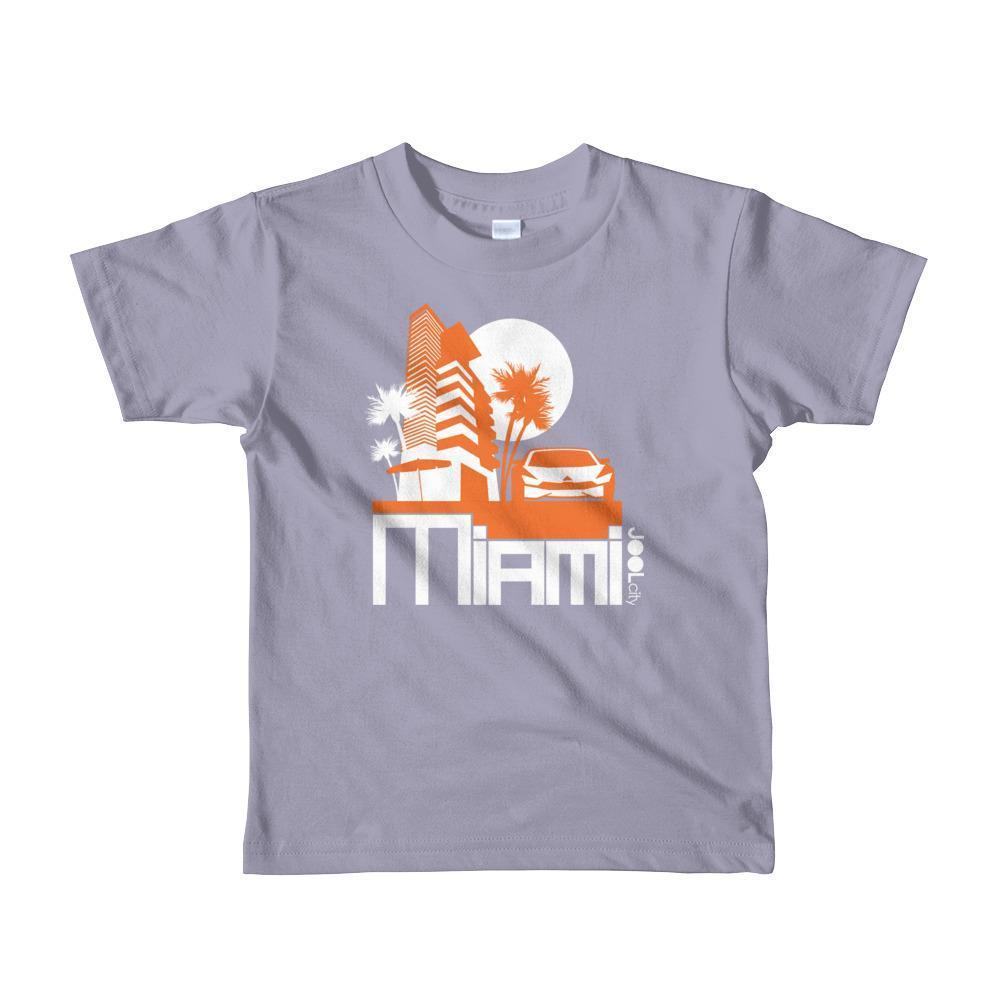 Miami Sleek City Toddler Short-Sleeve T-Shirt T-Shirt Slate / 6yrs designed by JOOLcity