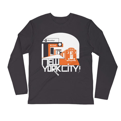 New York Brooklyn Bound Long Sleeve Men's T-Shirt T-Shirt 2XL designed by JOOLcity