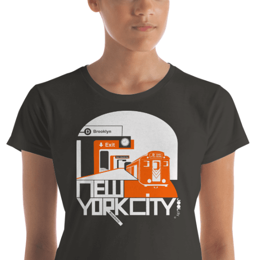New York Brooklyn Bound Women's  Short Sleeve T-Shirt T-Shirt  designed by JOOLcity