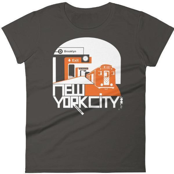 New York Brooklyn Bound Women's  Short Sleeve T-Shirt T-Shirt Smoke / 2XL designed by JOOLcity