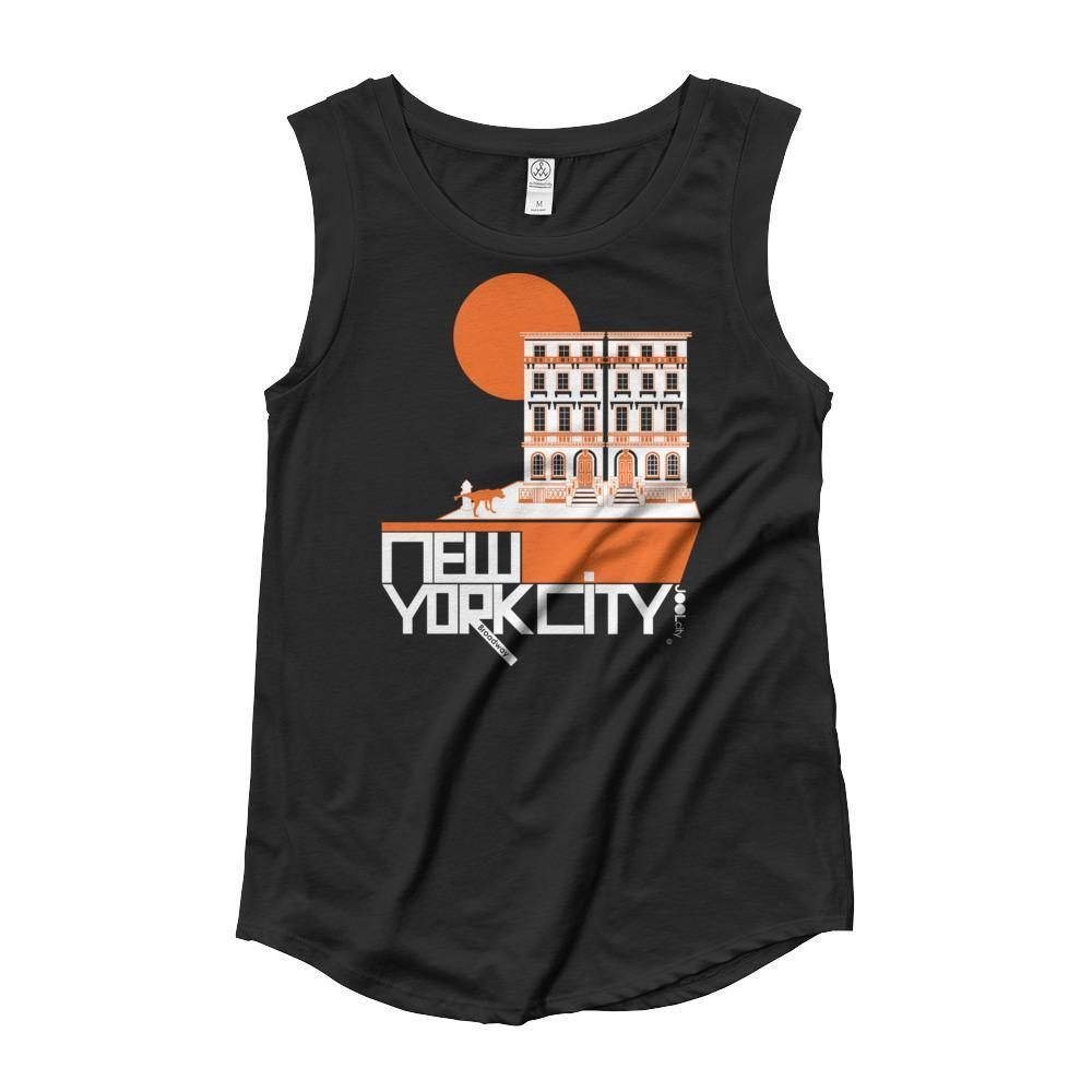 New York Brownstone Doggy Ladies' Cap Sleeve Tank-Top