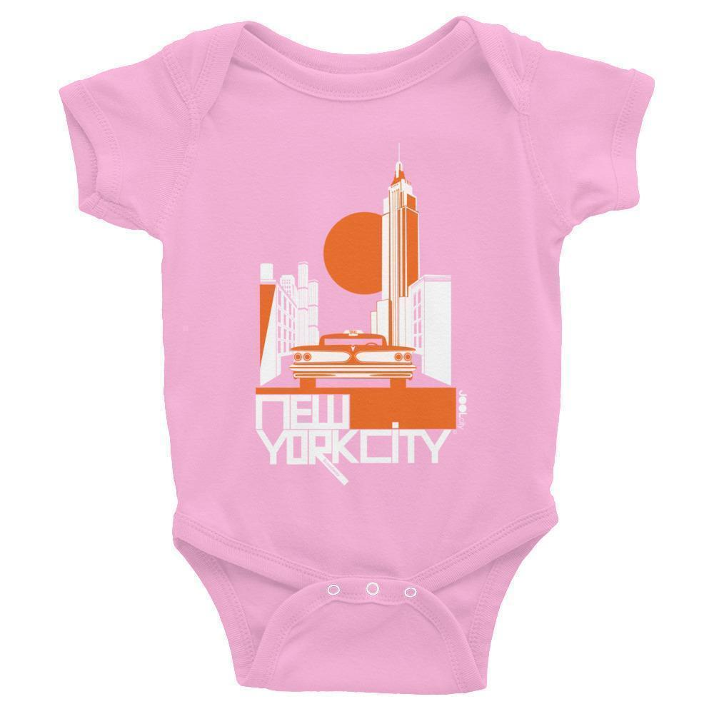 New York Empire Ride Baby Onesie