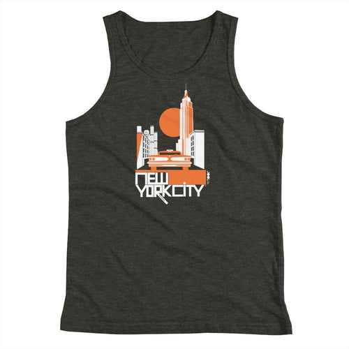 New York Empire Ride Youth Tank Top