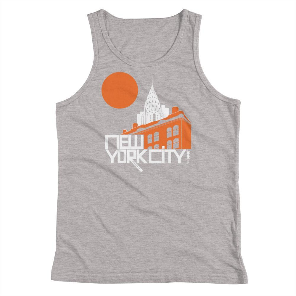 New York Gotham Deco Youth Tank Top