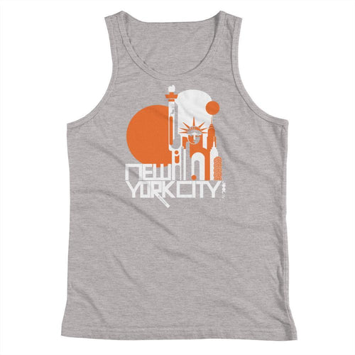 New York Lady Liberty Youth Tank Top