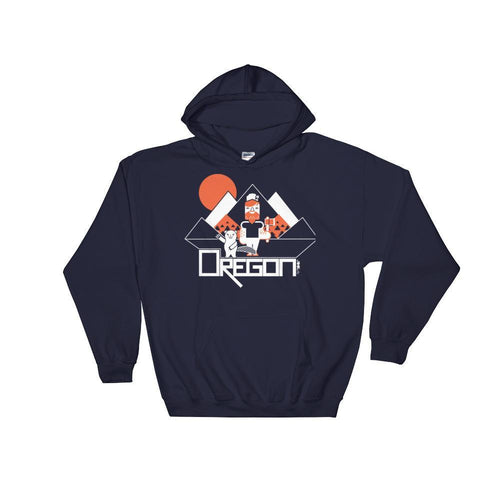 Oregon Lumber Jack Love Hooded Sweatshirt