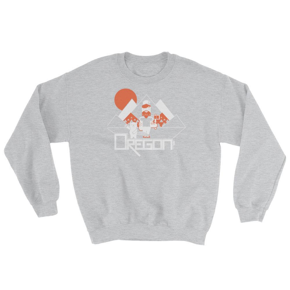 Oregon Lumber Jack Love Sweatshirt