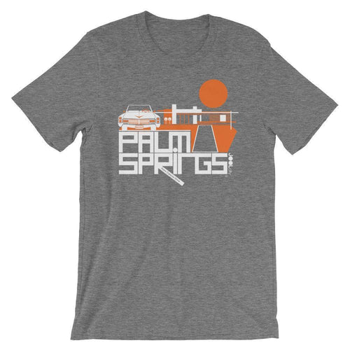 Palm Springs  Big Caddy Daddy  Short-Sleeve Men's  T-Shirt T-Shirt Deep Heather / XL designed by JOOLcity