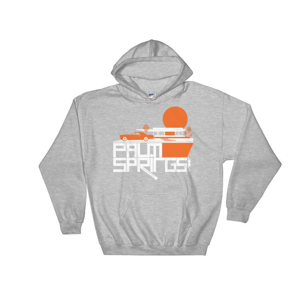 Palm Springs Cool Continental Hooded Sweatshirt
