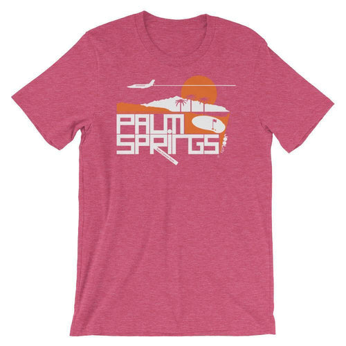 Palm Springs Country Club Short-Sleeve Men's  T-Shirt T-Shirt Heather Raspberry / 2XL designed by JOOLcity