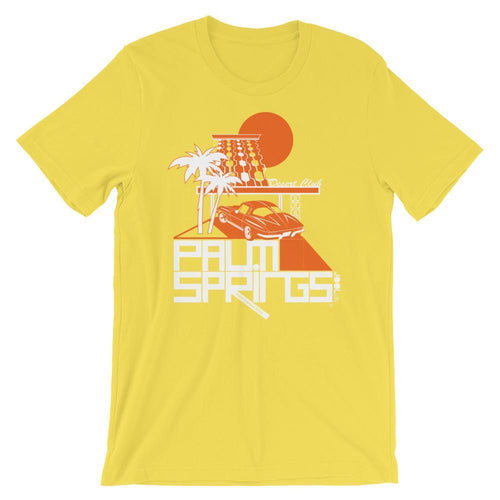 Palm Springs Desert Club Short-Sleeve Men's  T-Shirt T-Shirt Yellow / 2XL designed by JOOLcity