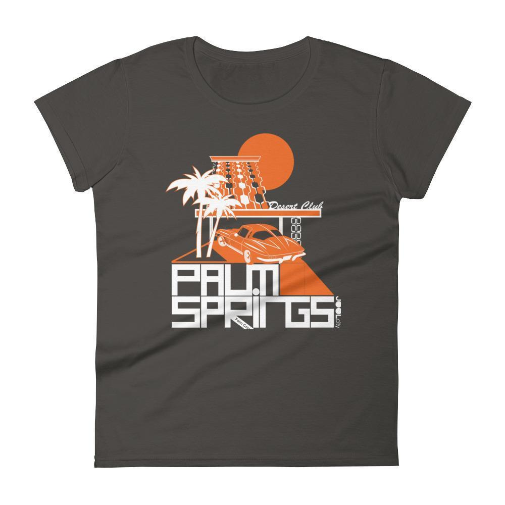 Palm Springs Desert Club Women's  Short Sleeve T-Shirt T-Shirt Smoke / 2XL designed by JOOLcity