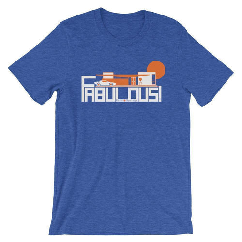 Palm Springs  Fabulous  Short-Sleeve Men's  T-Shirt T-Shirt Heather True Royal / 2XL designed by JOOLcity