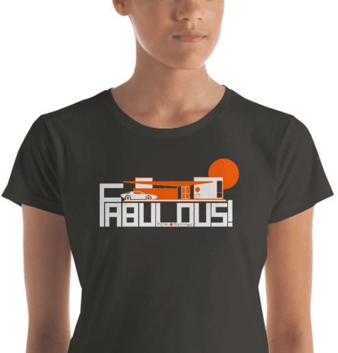 Palm Springs  FABULOUS Women's  Short Sleeve T-Shirt T-Shirt  designed by JOOLcity