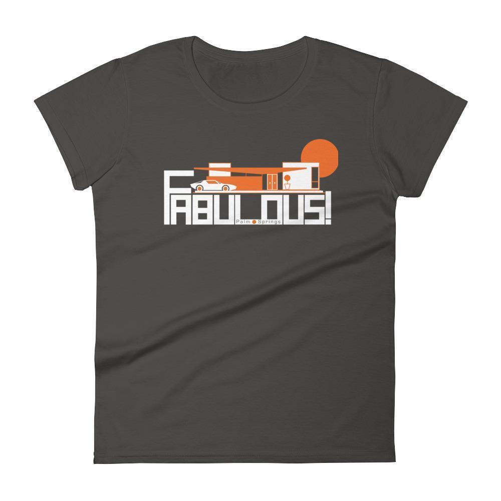 Palm Springs  FABULOUS Women's  Short Sleeve T-Shirt T-Shirt Smoke / 2XL designed by JOOLcity
