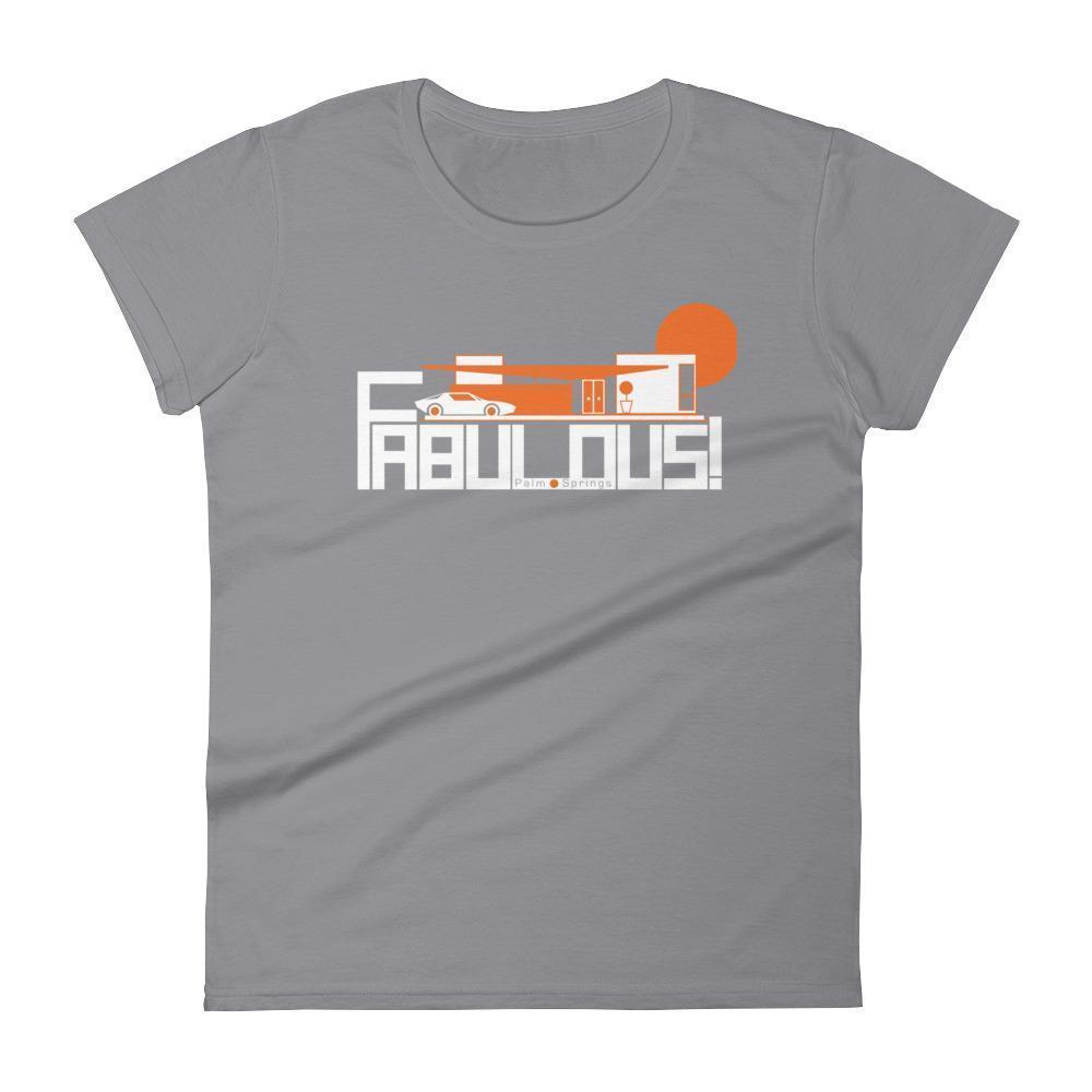 Palm Springs  FABULOUS Women's  Short Sleeve T-Shirt T-Shirt Storm Grey / 2XL designed by JOOLcity