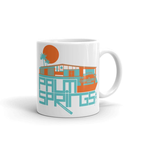 Palm Springs  Glam Ranch  Mug