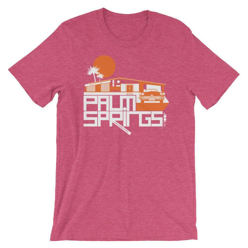 Palm Springs Glam Ranch Short-Sleeve Men's  T-Shirt T-Shirt Heather Raspberry / 2XL designed by JOOLcity