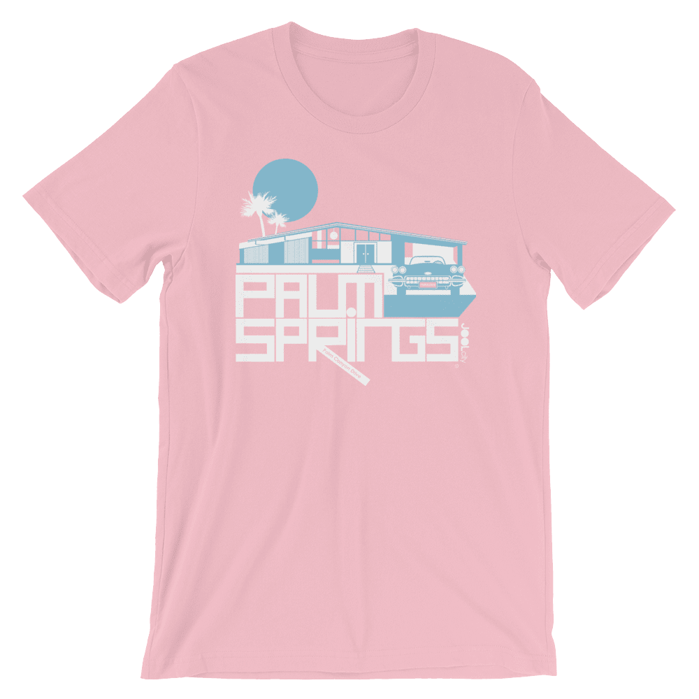 Palm Springs Glam Ranch Short-Sleeve Men's  T-Shirt T-Shirt Pink / 2XL designed by JOOLcity