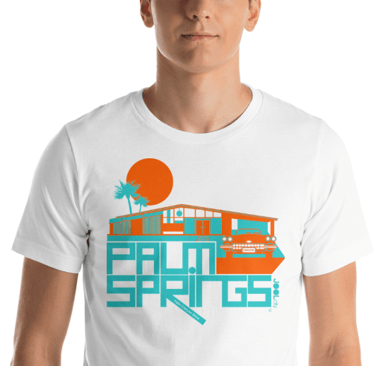 Palm Springs Glam Ranch Short-Sleeve Unisex T-Shirt T-Shirt  designed by JOOLcity