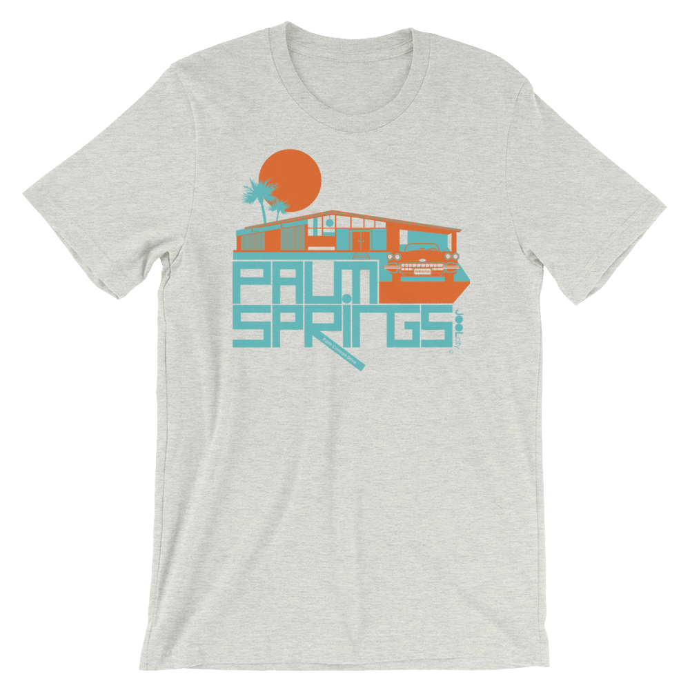 Palm Springs Glam Ranch Short-Sleeve Unisex T-Shirt T-Shirt Ash / 2XL designed by JOOLcity