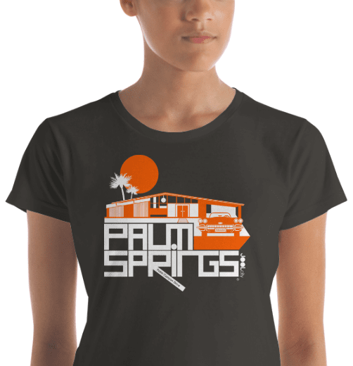 Palm Springs  Glam Ranch  Women's  Short Sleeve T-Shirt T-Shirt  designed by JOOLcity