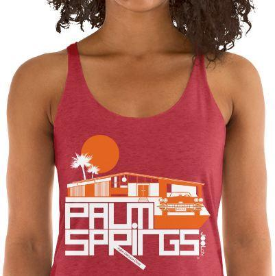 Palm Springs Glam Ranch Women's Tank Top
