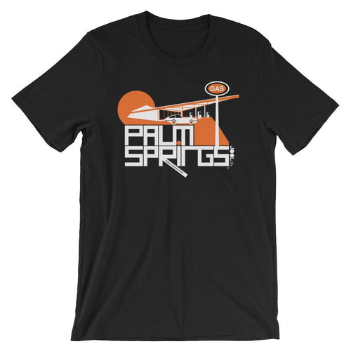 Palm Springs High Octane Short-Sleeve Men's T-Shirt T-Shirt Black / 2XL designed by JOOLcity