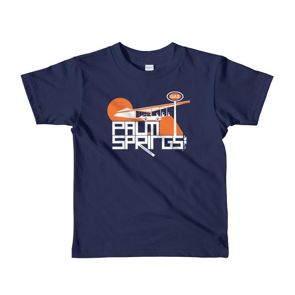 Palm Springs High Octane Toddler Short Sleeve T-shirt T-Shirt Navy / 6yrs designed by JOOLcity
