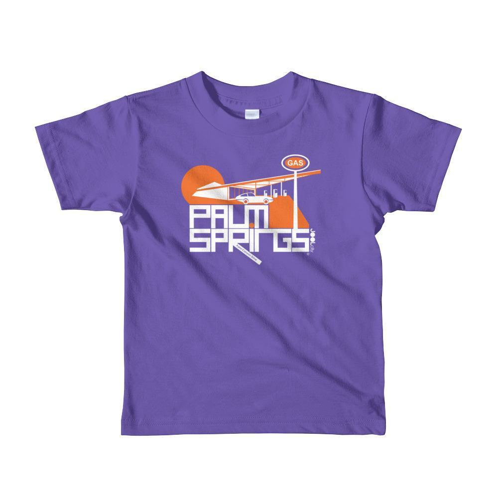 Palm Springs High Octane Toddler Short Sleeve T-shirt T-Shirt Purple / 6yrs designed by JOOLcity