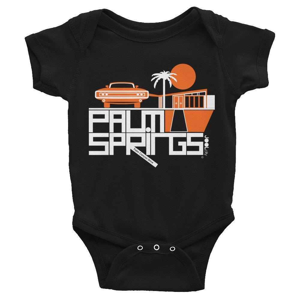 Palm Springs  Mod-Car  Baby Onesie
