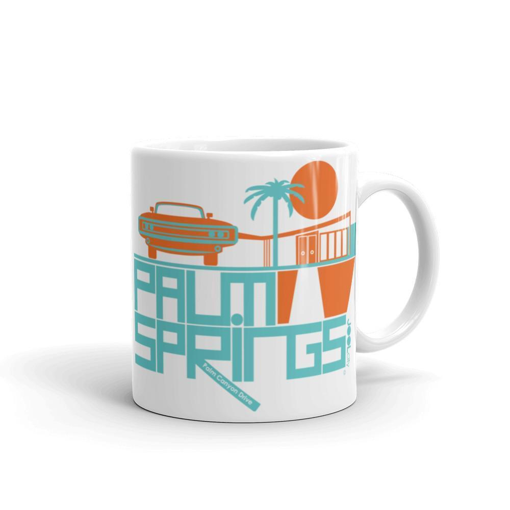 Palm Springs  Mod Car  Mug