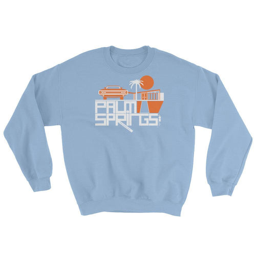 Palm Springs Mod Car Sweatshirt