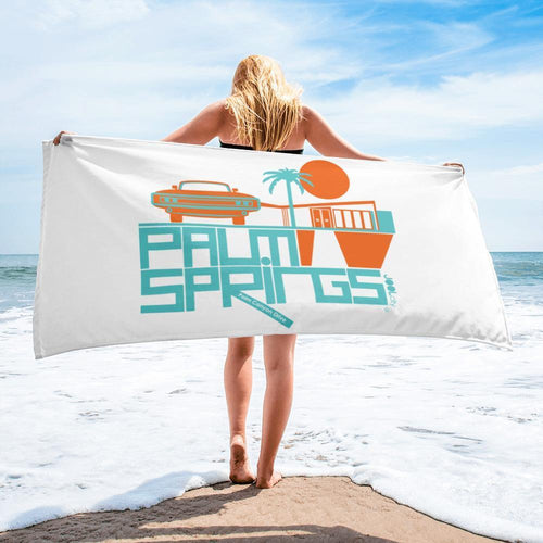 Palm Springs  Mod-Car  Towel