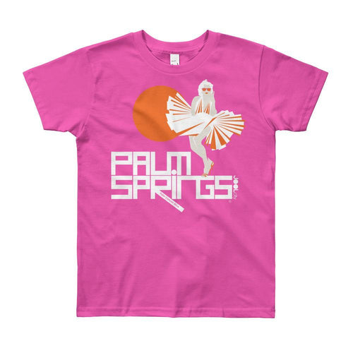Palm Springs My Girl Short Sleeve Youth T-shirt T-Shirt Fuchsia / 12yrs designed by JOOLcity
