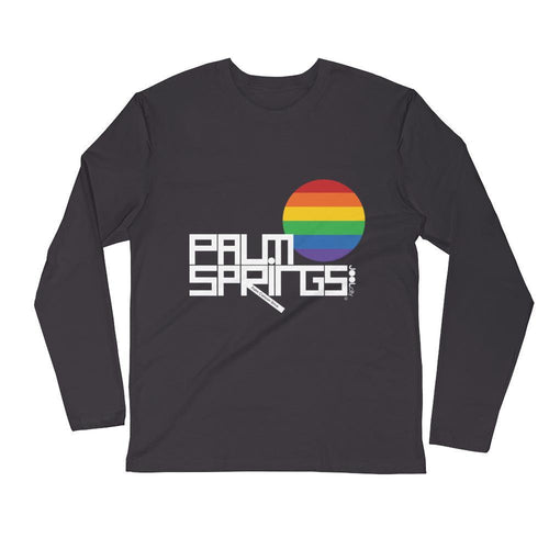 Palm Springs PRIDE Long Sleeve Men's T-Shirt T-Shirt 2XL designed by JOOLcity