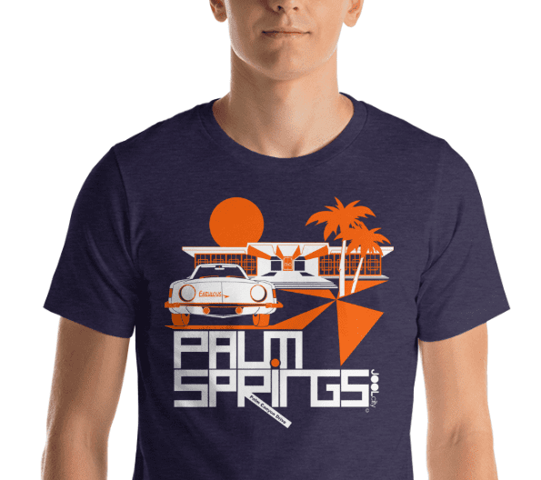 Palm Springs Swank City Short-Sleeve Unisex T-Shirt T-Shirt  designed by JOOLcity