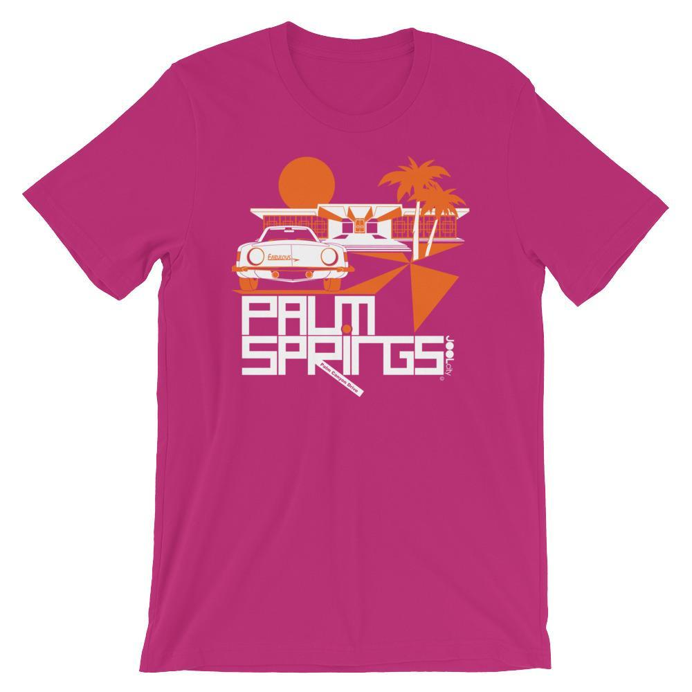 Palm Springs Swank City Short-Sleeve Unisex T-Shirt T-Shirt Berry / 2XL designed by JOOLcity