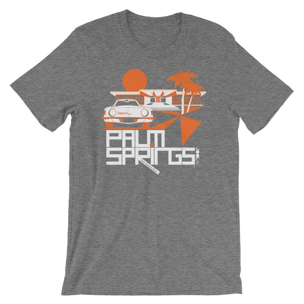 Palm Springs Swank City Short-Sleeve Unisex T-Shirt T-Shirt Deep Heather / 2XL designed by JOOLcity