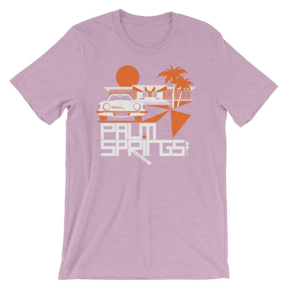 Palm Springs Swank City Short-Sleeve Unisex T-Shirt T-Shirt Heather Prism Lilac / 2XL designed by JOOLcity