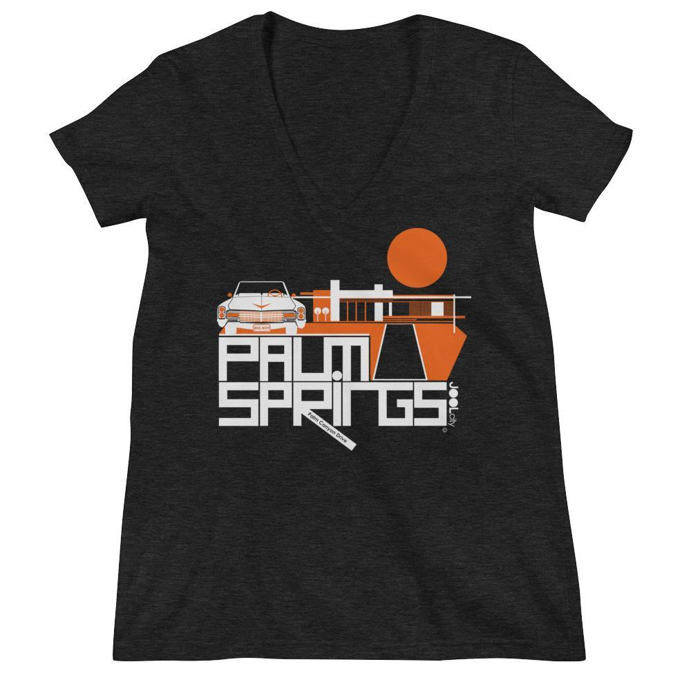 Palm Springs Big Caddy Daddy Women's Fashion Deep V-neck Tee