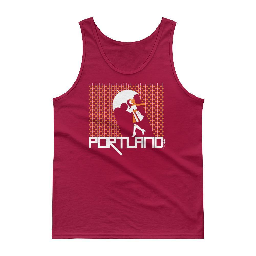 Portland Raining Hearts Men's Tank Top