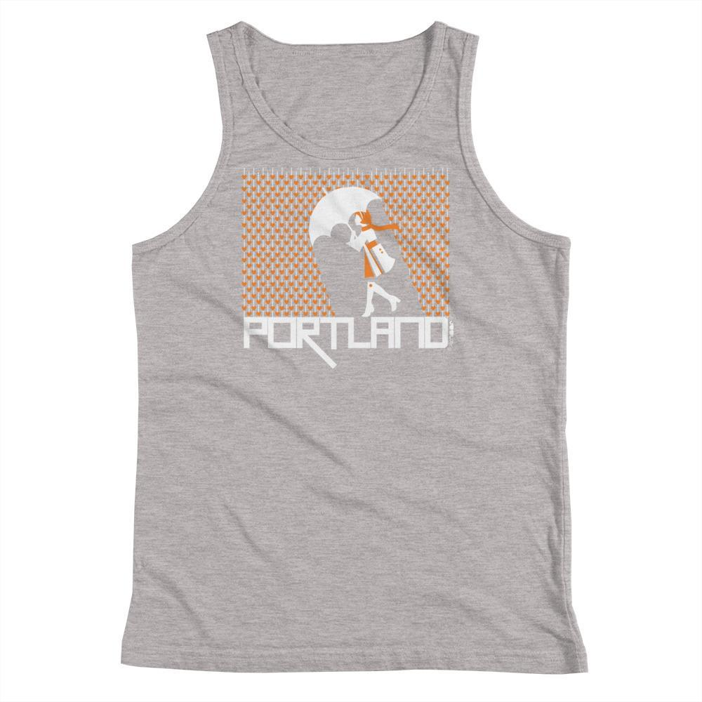 Portland Raining Hearts Youth Tank Top