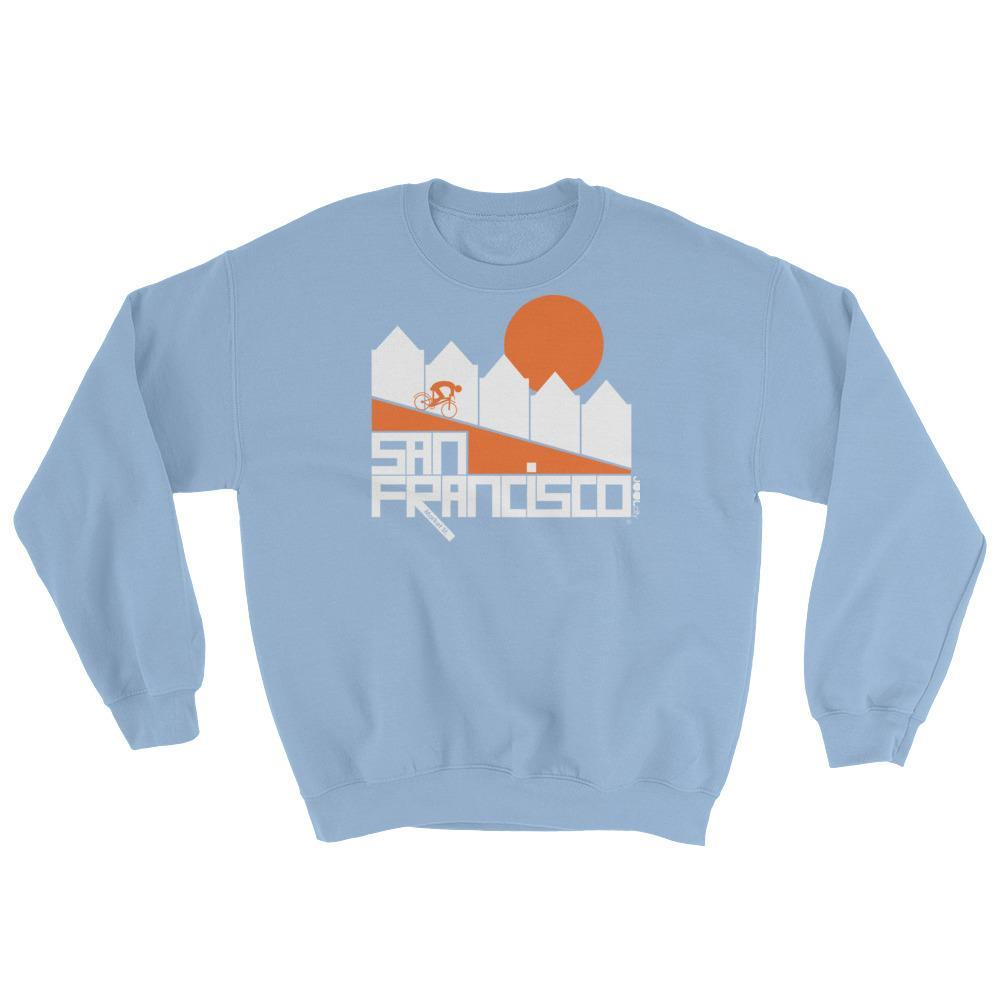 San Francisco Alamo Square Cyclist Sweatshirt