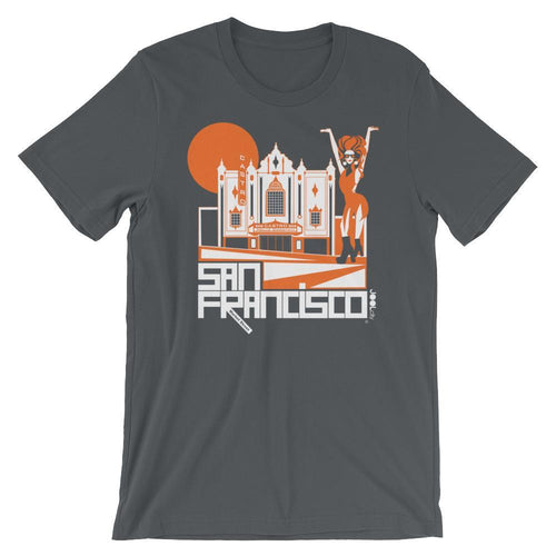 San Francisco Castro Diva Short-Sleeve Men's T-Shirt T-Shirt Asphalt / 2XL designed by JOOLcity