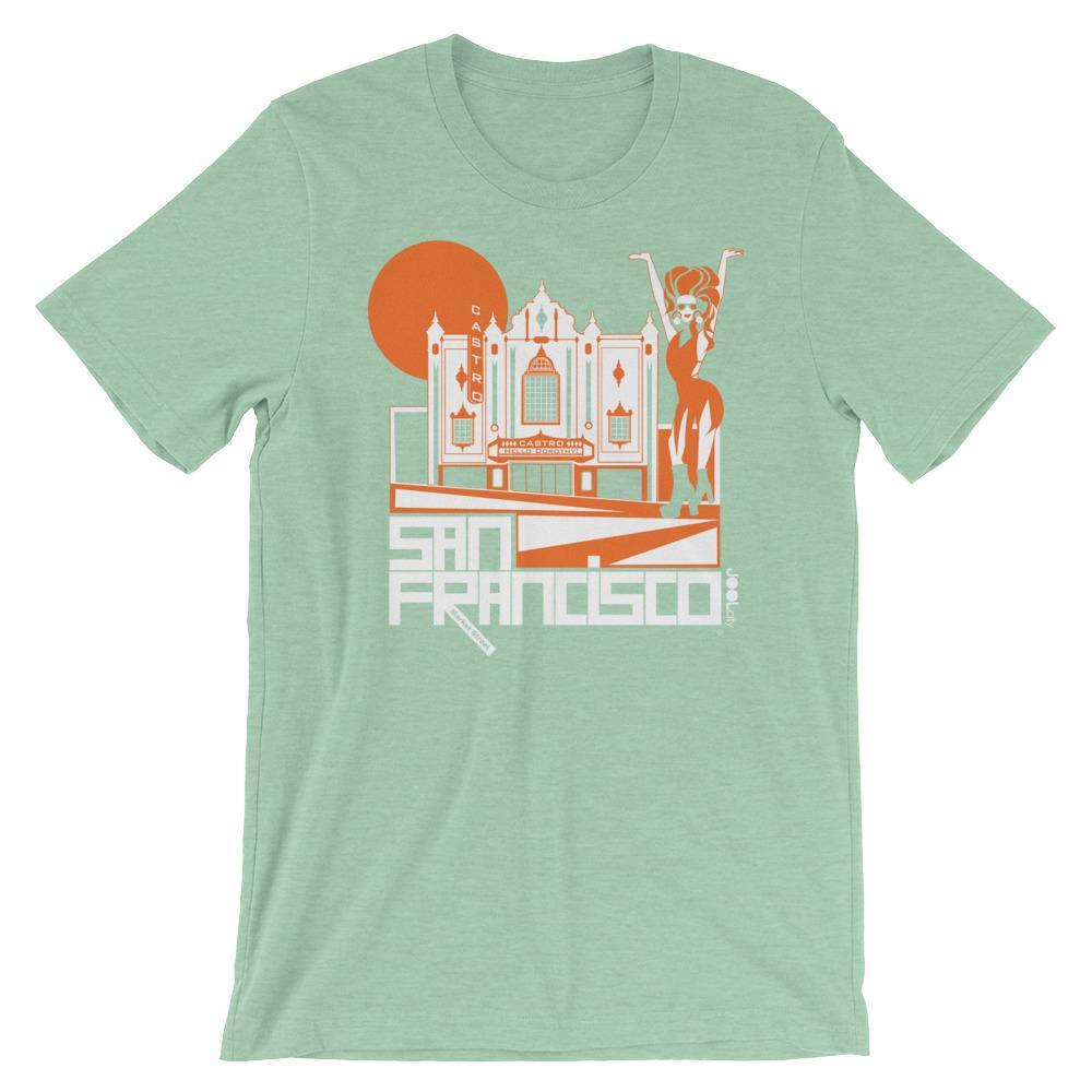 San Francisco Castro Diva Short-Sleeve Men's T-Shirt T-Shirt Heather Prism Mint / 2XL designed by JOOLcity