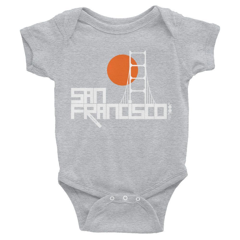 San Francisco  Golden Gate  Baby Onesie