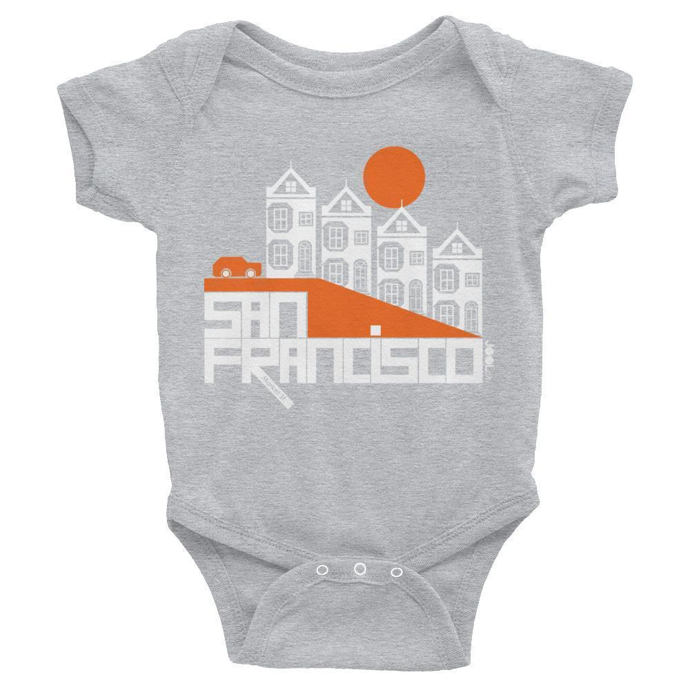 San Francisco  Painted Ladies  Baby Onesie