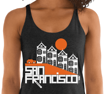 San Francisco Painted Ladies Women's Tank Top
